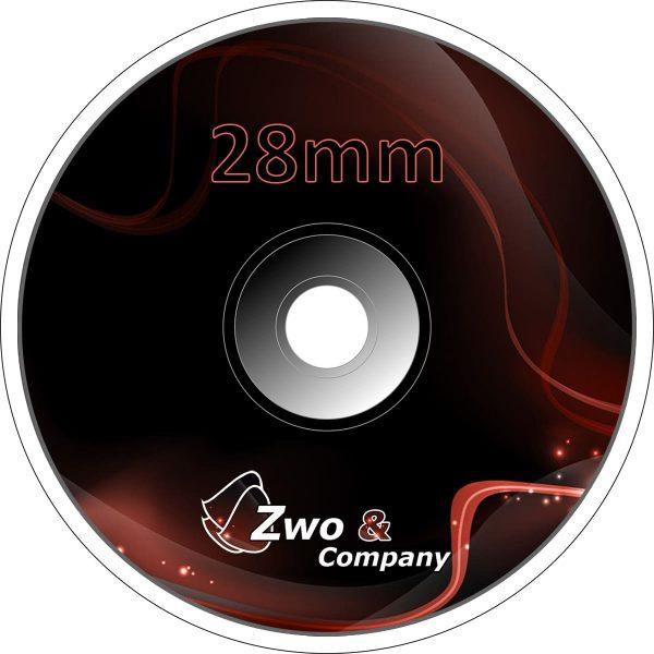 28 Milímetros (mm)